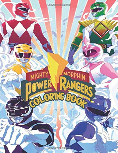 Power Rangers Coloring Book: JUMBO Coloring Book for Kids and Adults (For Children Ages 4-12)