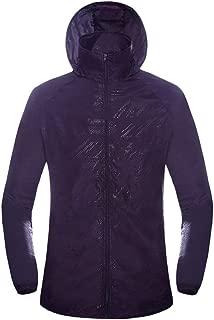 Unisex Men's Womens Sports Outdoor Waterproof Jacket Windproof Rain Coat Quick Dry Windbreaker Tops Outwear Activewear
