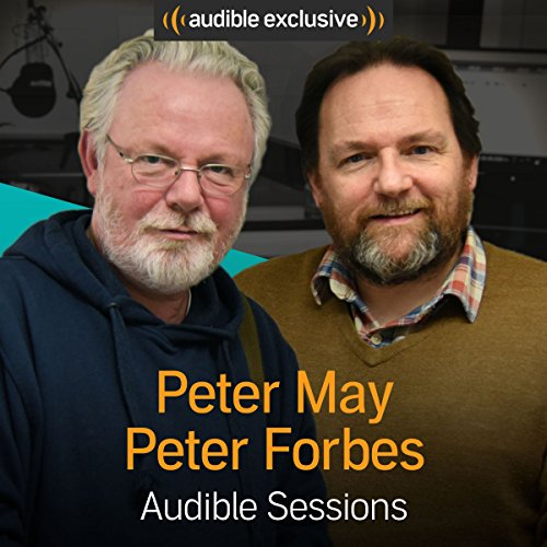 Peter May and Peter Forbes audiobook cover art