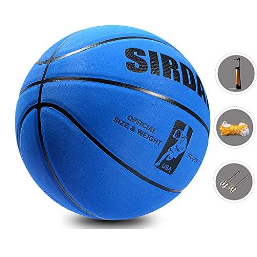 Why Should You Buy YE ZI Basketballs- Standard Basketball Indoor and Outdoor No. 7 Basketball Size 9...