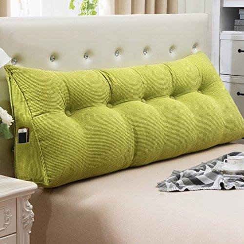 Fu Man Li Trading Company Coussin d'oreiller double au couvre oreiller A+ ( Couleur : Vert , taille : 90*22*50cm )
