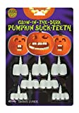 Glow in the Dark Pumpkin Buck Teeth Standard