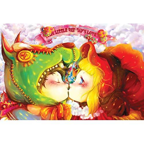 Puzzels 1000 Stuks, Roodkapje, Houten Puzzel Educatief Speelgoed Voor Volwassen Kinderen, Romantische Kerstcadeaus -4.16