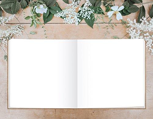 Hardcover Gästebuch mit weißen Seiten - 5