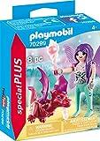 PLAYMOBIL Special Plus 70299 - Figura de Hada con dragón (4 años)