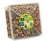 Dehner Snackbox Jumbo - Caja de Aperitivos para Perro, 4 Tipos de Mezcla,...
