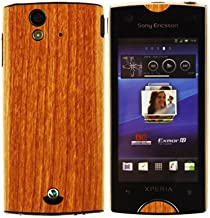 Skinomi Light Wood Full Body Skin Compatible with Sony Ericsson Xperia Ray (Full Coverage) TechSkin with Anti-Bubble Clear...