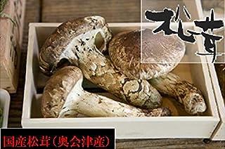 奥会津旬彩館 国産 松茸 (並)大きさ不揃い 150g 会津産 岩手産