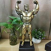 彫刻ヨーロッパのスポーツヘラクレス筋肉の男性と女性の像抽象図芸術彫刻樹脂装飾