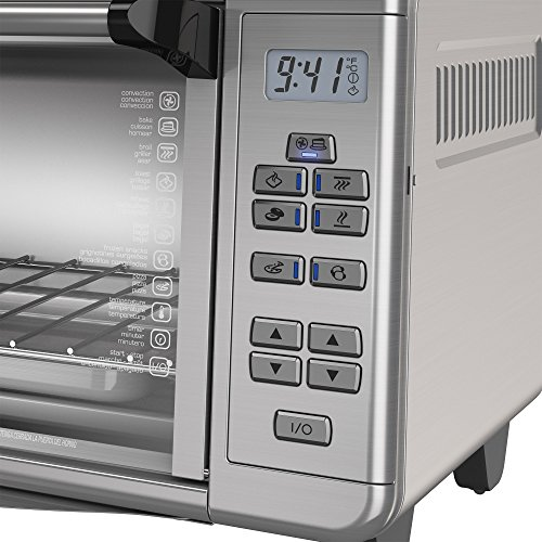BLACK+DECKER TO3290XSD TO3290XSBD Toaster Oven, 8-Slice, Stainless Steel
