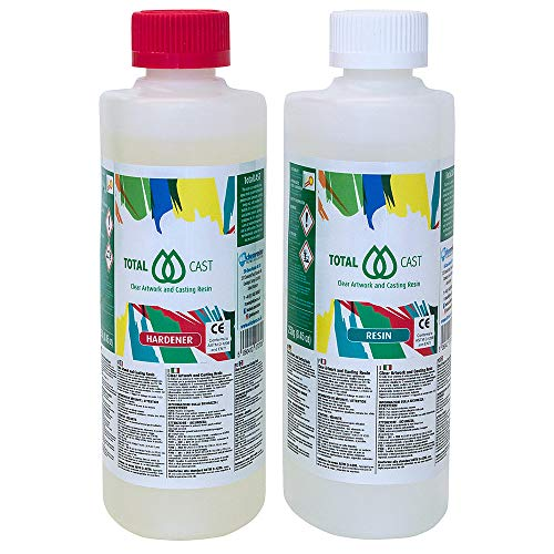 TotalCAST resin for paintings