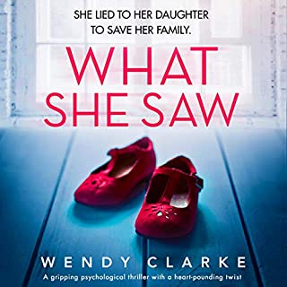 What She Saw                   By:                                                                                                                                 Wendy Clarke                               Narrated by:                                                                                                                                 Jasmine Blackborow                      Length: 10 hrs and 5 mins     9 ratings     Overall 3.6