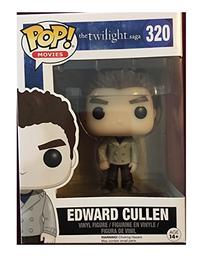 Pop! Movies: The Twilight Saga - Edward Cullen #320 Sparkled Vinyl Figure Exclusive