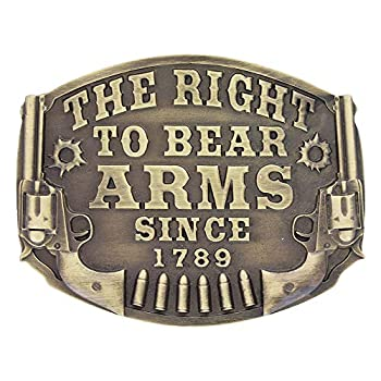 Montana Silversmiths Heritage The Right to Bear Arms Attitude Buckle