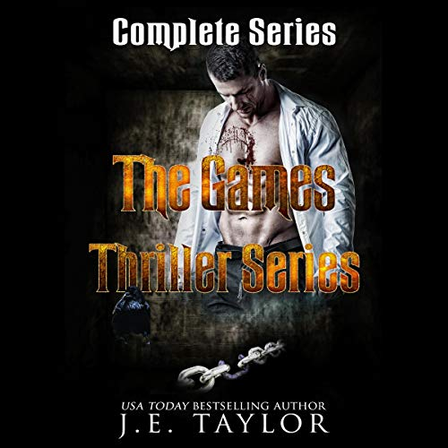 The Games Thriller Series audiobook cover art