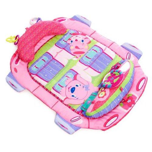 Bright Starts Tapis d'éveil Pretty in Pink Tummy Cruiser