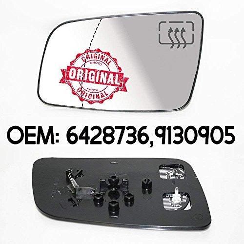 CarJoy 650310 Außenspiegel Beheizbar Glas Spiegelglas Links Fahrerseite für Astra G 98-09 OEM 6428736 9130905