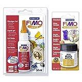 FIMO Soft Liquid 50 ml + vernice lucida 10 ml - Staedtler