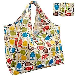 GOKEI エコバッグ コンビニバッグ 買い物バッグ 折りたたみ 大容量 防水素材 軽量 買い物袋 コンパクト 収納 水や汚れにも強い