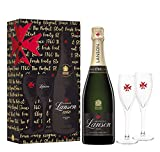 Lanson Black Label and 2 Flutes Gift Pack
