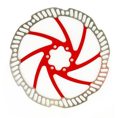 Tektro Polygon (Auriga/Pro) 180mm Disc Brake Rotor Bike OEM Package Red