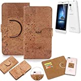 K-S-Trade 360° Cover cork Case for coolpad Torino S |