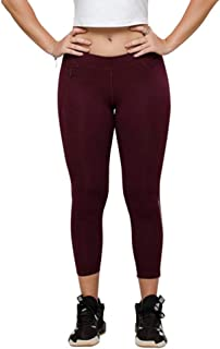 Lovable Women Girls Cotton Solid Track Pants in Purple Color- Gear Up Track - WN