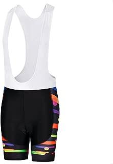 Uriah Women's Cycling Bib Shorts White 3D Coolmax Gel Padded
