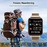 Kalakate Touchscreen Smartwatch for Men Women, IP68 Waterproof Fitness Health Smart Watch with...