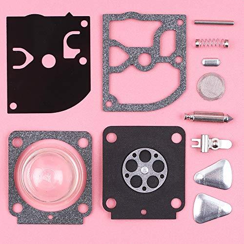 Tiempo MEIPA Reparación del carburador Carb Kit de reconstrucción for Stihl FS55 FS38 HS45 BG45 MM55 Mini timón Trimmer Piezas de Zama RB-100 RB 100