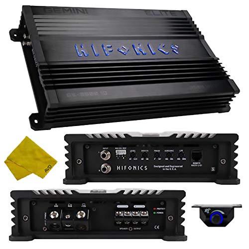 Hifonics Monoblock Car Amplifier – Gemini Series Class D Amplifier 3500 Watt, Car Electronics Audio Subwoofer Bass Boost 1 Ohm Stable MOSFET Power Supply for Car Speakers Mono Sub Amp
