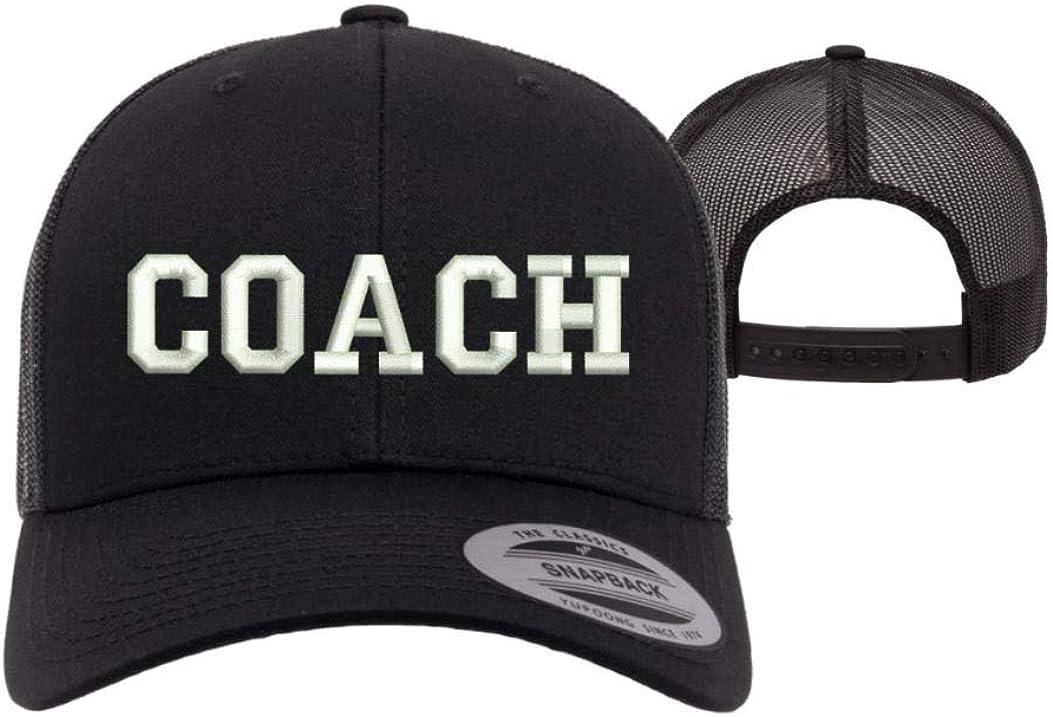 Coach Trucker Baseball Hat - Unisex - Sports Coach Baseball Caps