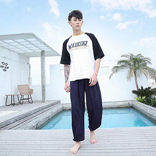 Push Up Leggings Athletic Fitness,Hombres Mujeres Pantalones de Yoga de Entrenamiento Coreano de Cintura Alta Pantalones de Mosquitos de Tai Chi Ropa de Playa de Baile-N_M