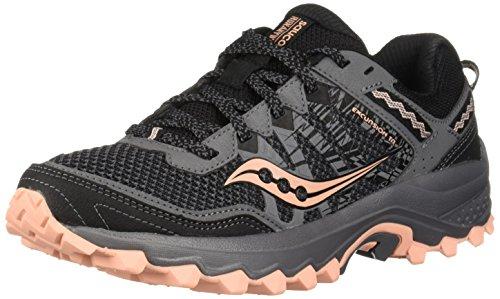 Saucony Women's Excursion TR12 Sneaker, Grey/Peach, 10 M US