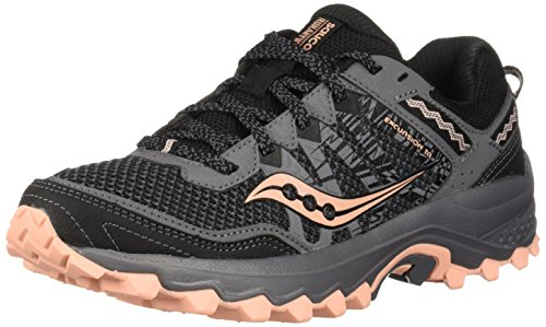 Saucony Women's Excursion TR12 Sneaker, Grey/Peach, 8 M US