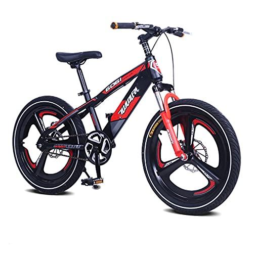16/18/20 Pulgadas Bicicleta MontañA NiñOs Bici Infantiles,Frenos Disco Velocidad úNica Bicicleta NiñOs NeumáTico 2,5 Pulgadas Ancho Apto Para NiñOs 5 A 14 AñOs
