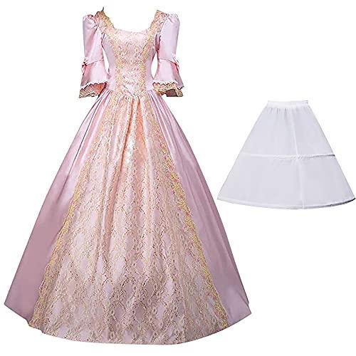 Vestido rococó para Mujer, Vestidos de Baile, Trajes victorianos góticos, Disfraz de Cosplay de Princesa Lolita, Fiesta de Carnaval de Halloween