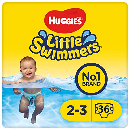 Huggies Little Swimmers - Baby zwemluiers - maat 2/3 (3 tot 8 kg) - 36 stuks - Voordeelverpakking