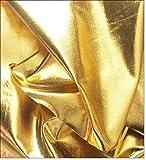 eventkauf Lycra Stoff Meterware am Stück (Gold)