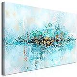 murando Cuadro en Lienzo Abstracto 120x60 cm 1 Parte Impresión en Material Tejido no Tejido Impresión Artística Imagen Gráfica Decoracion de Pared a-A-0416-b-a