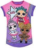 LOL Surprise! Camicia da Notte delle Ragazze Bambole Viola 4-5 Anni