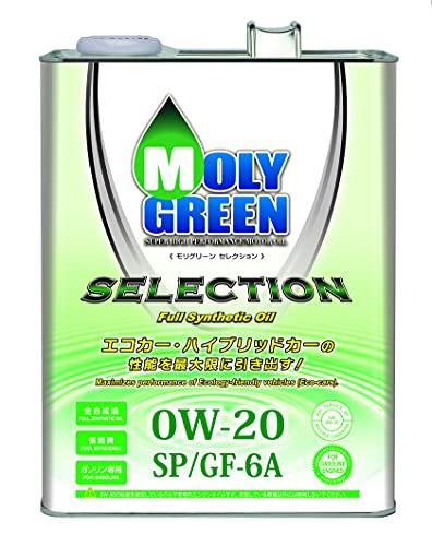 モリグリーン ガソリンエンジンオイル セレクション 0W20 SN/GF-5 4L 0470076