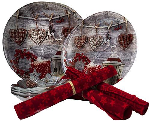 Porcelana 16.5x16.5x12.5 cm 10 x 13 cm en Festivo Embalaje de Regalo para Navidad Villeroy /& Boch 14-8585-0960 Azucarero Toys Delight