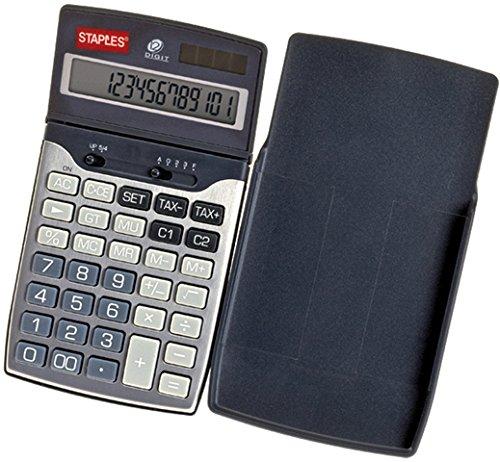 Staples Taschenrechner Travel silber 12-stlg.
