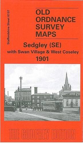 Sedgley (SE) with Swan Village and West Coseley 1901: Staffordshire Sheet 1901