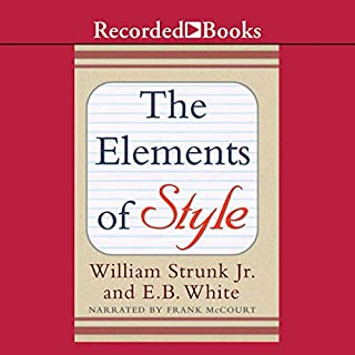 The Elements of Style (Recorded Books Edition) audiobook cover art