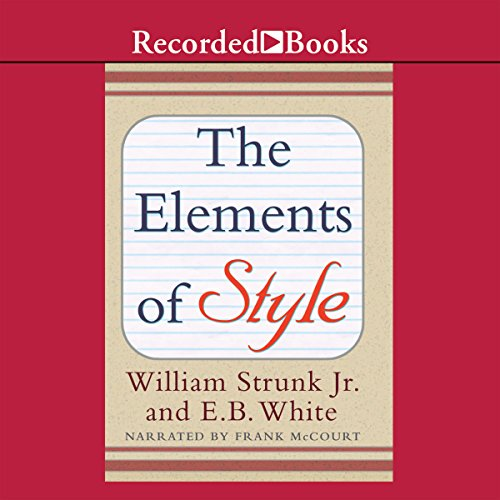 The Elements of Style (Recorded Books Edition)  By  cover art