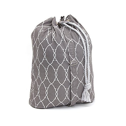Product Image of the Filo Extra Heavy Duty Laundry Drawstring Duffle Bag, Storage Sisal Rope Bins, Baskets, Rope Woven Nursery Bins