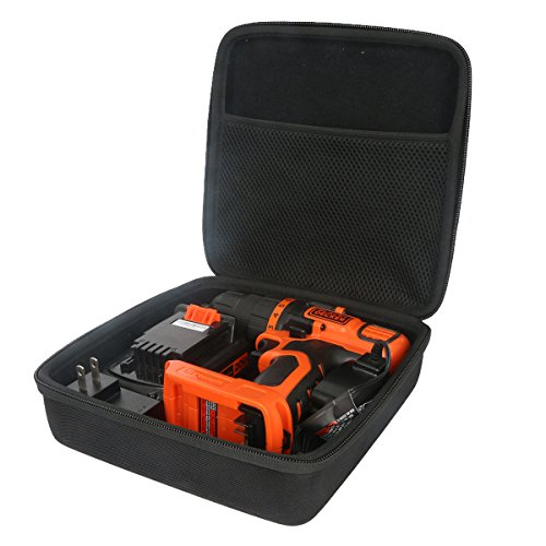 Hard Travel Case for LDX120C 20-Volt MAX Lithium-Ion Cordless Drill Driver by co2crea (Size 2)