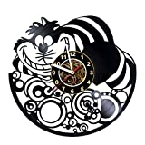 Wall Clock Compatible with Cheshire Cat -...